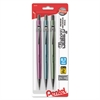 Sharp Mechanical Drafting Pencil, 0.7 mm, Assorted Pastel Barrels, 3/Pack