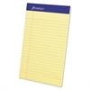 Mead Jr. Legal Ruled Pad, 5 x 8, Canary, 50 Sheets/Pad, 4 Pads/Pack
