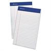 Ampad Mead Jr. Legal Ruled Pad, 5 x 8, White, 50 Sheets, 4 Pads/Pack
