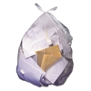 High-Density Coreless Can Liners, 40-45gal, 14 mic, 40 x 48, Natural, 250/Carton