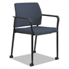 Accommodate™ Series Guest Chair with Fixed Arms, Cerulean Fabric
