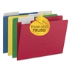 FlexiFolder Heavy Folders with Movable Tabs, Assorted, 1/3 Cut, Letter, 12/Pack