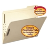 Folder, Two Fasteners, 1/3 Cut Third Position, Top Tab, Letter, Manila, 50/Box