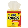 Rags in a Box, POP-UP Box, 10 x 12, White, 200/Box