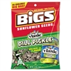 BIGS Sunflower Seeds, Dill Pickle, 5.35 oz Bag, 12/Carton