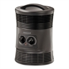 360 Surround Fan Forced Heater, 9 x 9 x 12, Gray