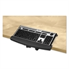 Fellowes I-Spire Series Desktop Edge Keyboard Lift, 18 4/9 x 8 3/8, Black/Gray