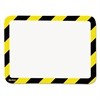 Tarifold High Visibility Safety Frame Display Pocket-Magnet Back, 10 1/4 x 14 1/2, YW/BK