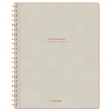 Collection Twinwire Notebook, Legal, 11 x 8 3/4, Tan/Red, 80 Sheets