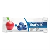 Nutrition Bar, Apple & Blueberry, 1.2 oz Bar, 12/Box