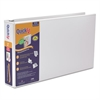 "Stride QuickFit Ledger D-Ring View Binder, 2"" Capacity, 11 x 17, White"