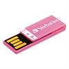 Clip-It USB 2.0 Flash Drive, 8GB, Pink