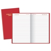 AT-A-GLANCE Standard Diary Daily Diary, Red, 8 3/16 x 13 7/16, 2017