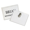 Name Badge Kits, Top Load, 4 x 3, Clear, 50/Box