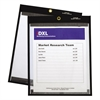 "C-Line Magnetic Stitched Shop Ticket Holders, Clear, 75"", 9 x 12, 25/Box"