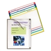 C-Line Write-On Project Folders, Letter, Assorted Colors, 25/BX