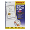 "C-Line Quick Cover Laminating Pockets, 12 mil, 9 1/8"" x 11 1/2"", 25/Pack"