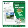 """Sheet Protectors, Clear, Polypropylene, 2"""", 11 x 8 1/2, 100/BX"""