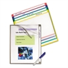 Write-On Project Folders, Letter, Assorted Colors, 10/PK
