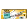 BIC Xtra-Precision Mechanical Pencil, .5mm, Clear, Dozen