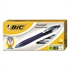 BIC REACTION Mechanical Pencil, .7mm, Blue, Dozen