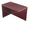 BL Series Return Shell, 42 1/4w x 24d x 29h, Mahogany