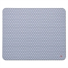 Precise Mouse Pad, Nonskid Repositionable Adhesive Back, 8 1/2 x 7, Gray/Bitmap