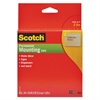"Scotch Foam Mounting Double-Sided Tape, 1"" Wide x 216"" Long"