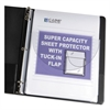 "C-Line Super Capacity Sheet Protector with Tuck-In Flap, 200"", Letter Size, 10/Pack"