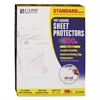 "Standard Weight Polypropylene Sheet Protector, Non-Glare, 2"", 11 x 8 1/2, 100/BX"