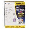 """Super Heavyweight Polypropylene Sheet Protector, Clear, 2"""", 11 x 8 1/2, 50/BX"""