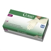 Curad Latex Exam Gloves, Powder-Free, Medium, 100/Box