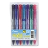 Pilot FriXion Clicker Erasable Gel Ink Retractable Pen, Assorted Ink, .5mm, 7/Pack