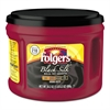 Folgers Coffee, Black Silk, 24.2 oz Canister, 6/Carton