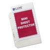 "Heavyweight Polypropylene Sheet Protector, Clear, 2"", 8 1/2 x 5 1/2, 50/BX"