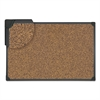 Universal Tech Cork Board, 48 x 36, Cork, Black Frame