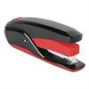 QuickTouch Reduced Effort Full Strip Stapler, 20-Sheet Capacity, Black/Red