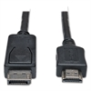 DisplayPort Cable, HDMI M/M, Black