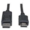 DisplayPort Cable, HDMI M/M, Black
