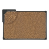 Universal Tech Cork Board, 36 x 24, Cork, Black Frame