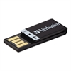 Verbatim Clip-It USB 2.0 Flash Drive, 4GB, Black