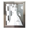 Metal Master Series Document and Photo Frame, 8 1/2 x 11, Pewter/Black Frame