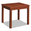 Laminate Occasional Table, Rectangular, 24w x 20d x 20h, Cognac