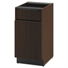 HON Hospitality Single Base Cabinet, Door/Access Panel, 18 x 24 x 36, Mocha