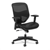 basyx VL534 Mesh High-Back Task Chair, Black