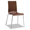 Safco Bosk Stack Chair, Cherry, 2/Carton