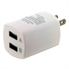 ByTech Universal USB Home Charger, 2 Outlets, White