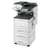 Oki MC873DNX Color Multifunction Laser Printer, Copy/Fax/Print/Scan
