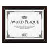 DAX Award Plaque with Easel, 8 1/2 x 11, Mahogany Frame