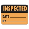LabelMaster Warehouse Self-Adhesive Label, 4 1/2 x 2 1/2, INSPECTED/DATE/BY, 500/Roll